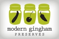 Contact: Modern Gingham Preserves