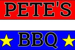 Contact: Pete's BBQ