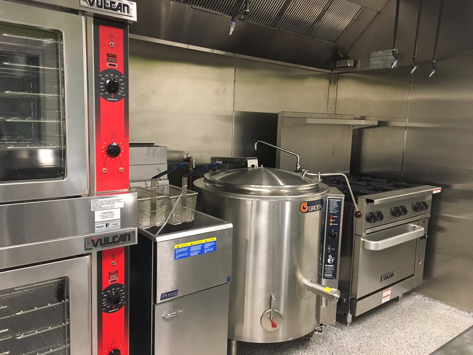 Shared-Use Commercial Kitchen at No More Empty Pots Food Hub