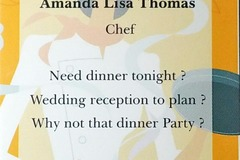 Contact: Amanda Lisa's Private Chef Services LLC