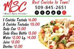 Contact: Mami's Spicy Ceviche