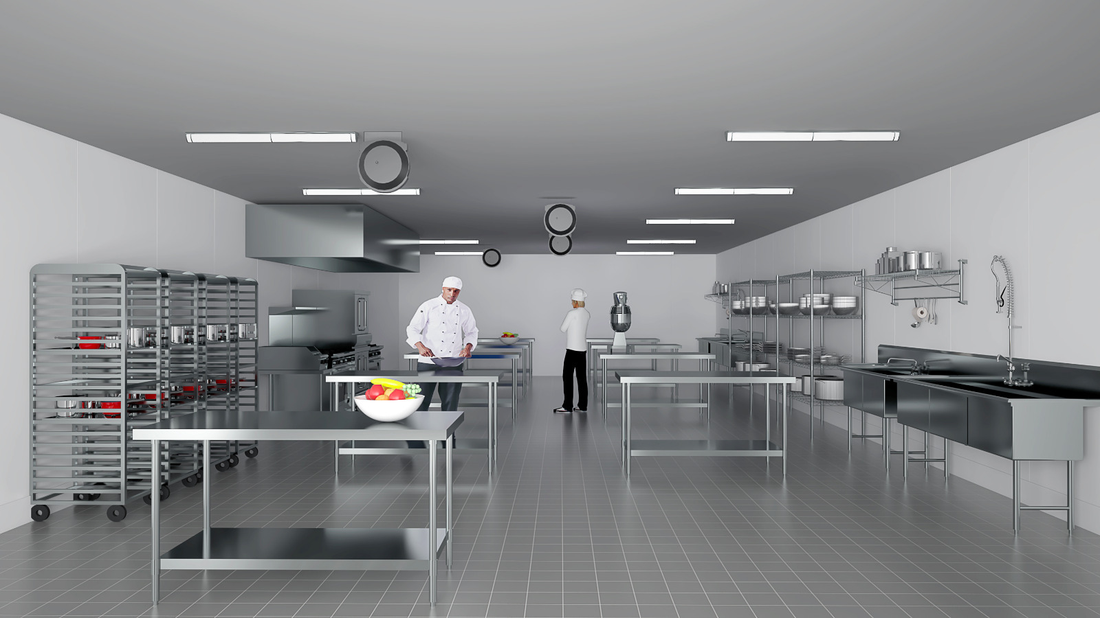 Stupendous Commercial And Commissary Kitchen Rentals In New York The Interior Design Ideas Lukepblogthenellocom