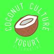 Coconut culture logo white green bckgrnd 01