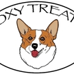 Foxy treats logo colored head