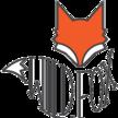 Wild fox logo words