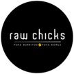 Raw chicks logo final b round