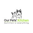 Our pets' kitchen logo on top